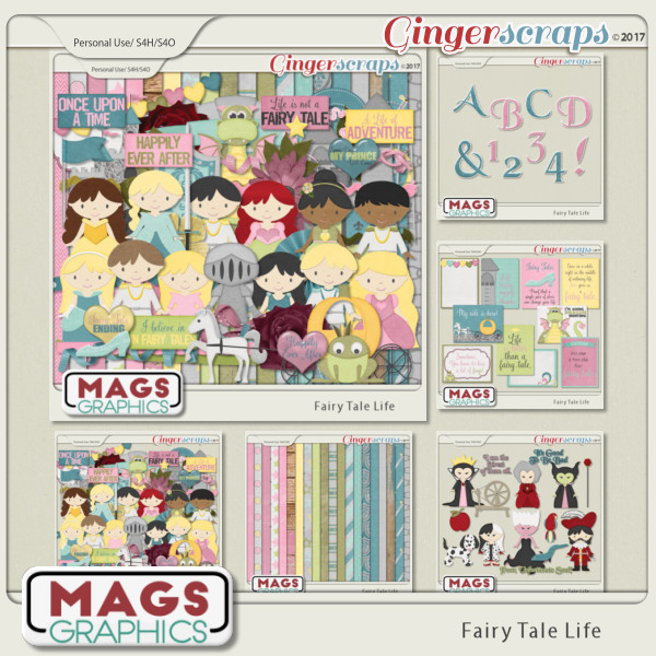 Fairy Tale Life BUNDLE by MagsGraphics