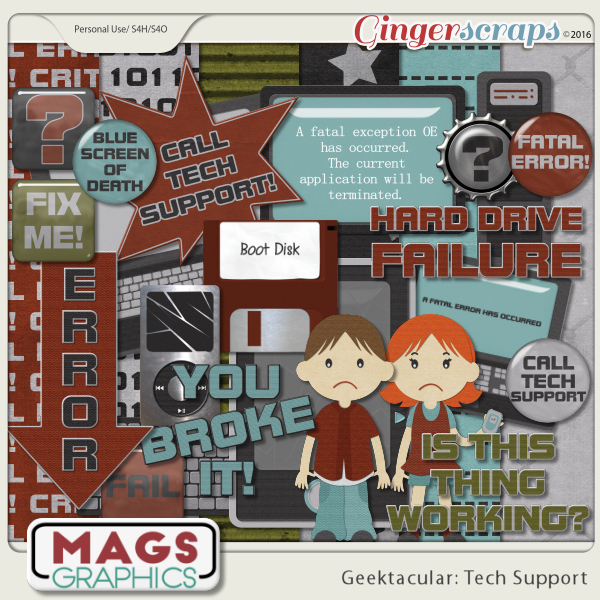 Geektacular Tech Support KIT