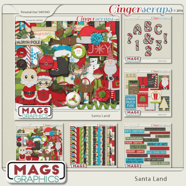Santa Land BUNDLE by MagsGraphics