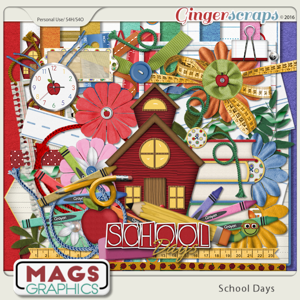 School Days KIT by MagsGraphics