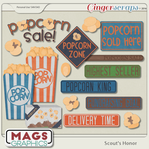 Scout's Honor POPCORN Pack
