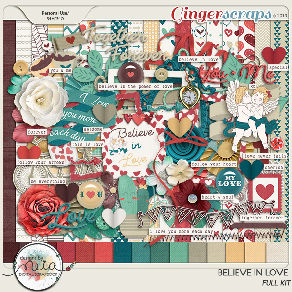 Believe In Love - Full Kit  by Neia Scraps
