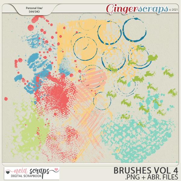 CU - Brushes - VOL 4 by Neia Scraps