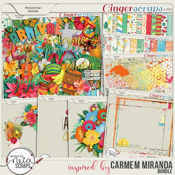 inspired by Carmem Miranda - Bundle - by Neia Scraps