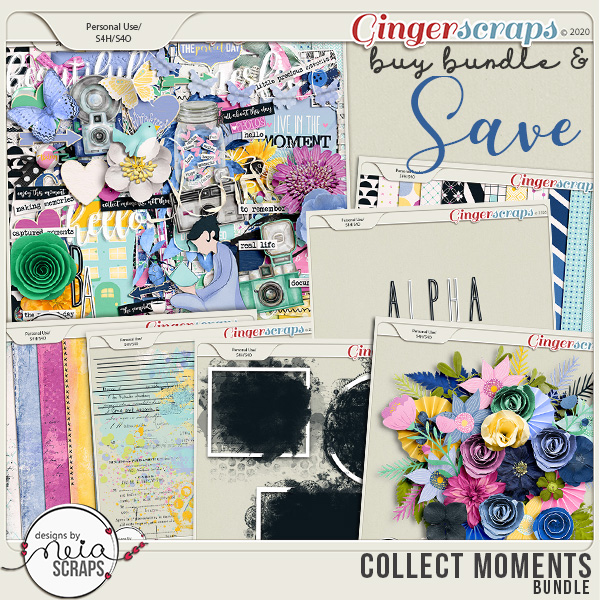 Collect Moments - Bundle - by Neia Scraps