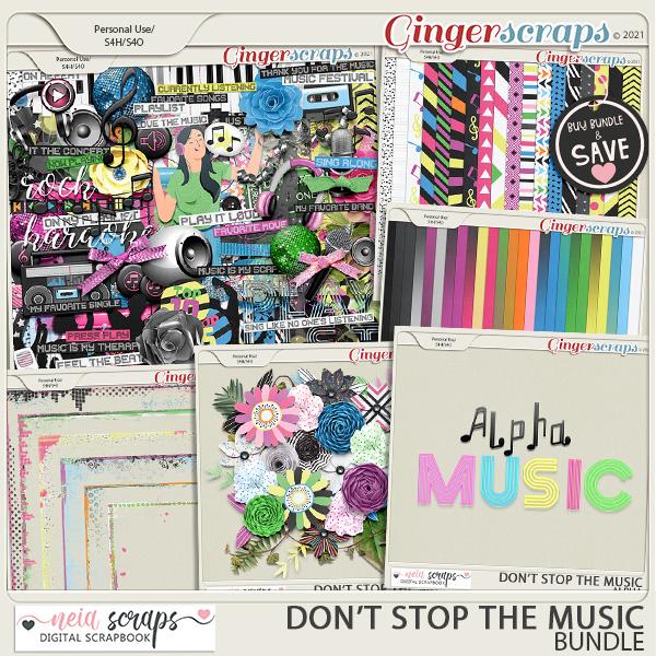 Don't Stop the Music - Bundle - by Neia Scraps