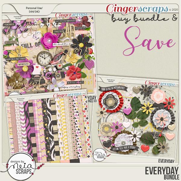 Everyday - Bundle - by Neia Scraps