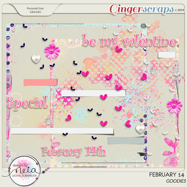 February 14 - Goodies - By Neia Scraps