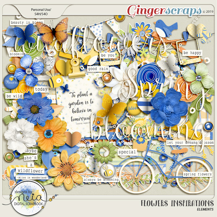 Flowers Inspirations - Elements - by Neia Scraps