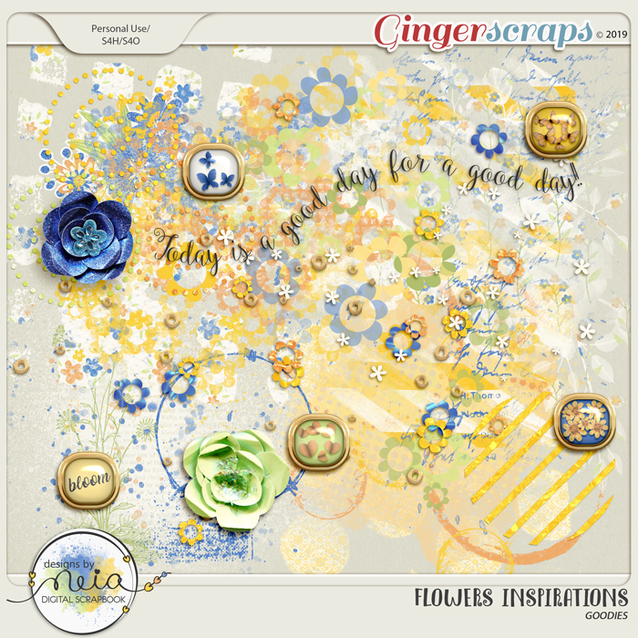 Flowers Inspirations - Goodies - by Neia Scraps