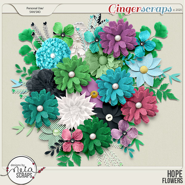 Hope - Flowers - by Neia Scraps