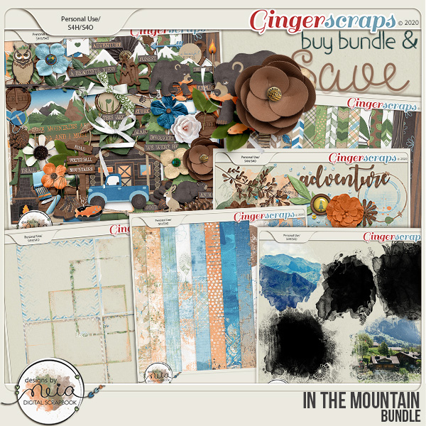 In The Mountain - Bundle - by Neia Scraps