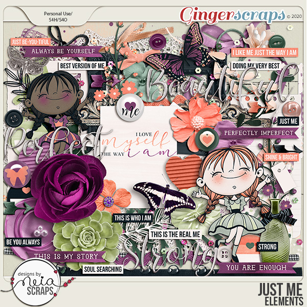 Just Me - Elements - by Neia Scraps