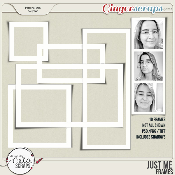 Just Me - Frames - by Neia Scraps