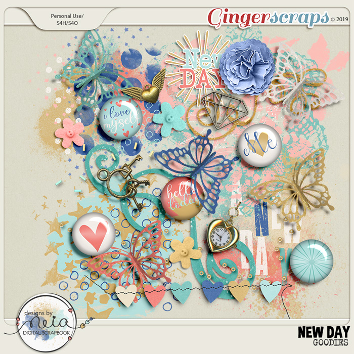 New Day - Goodies - by Neia Scraps