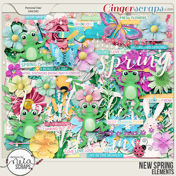 New Spring - Elements - by Neia Scraps