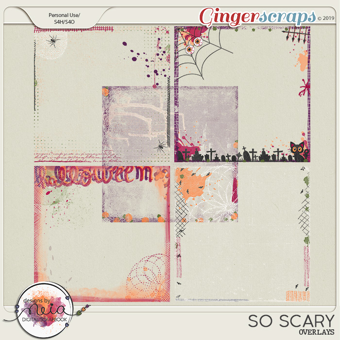 So Scary - Overlays - by Neia Scraps