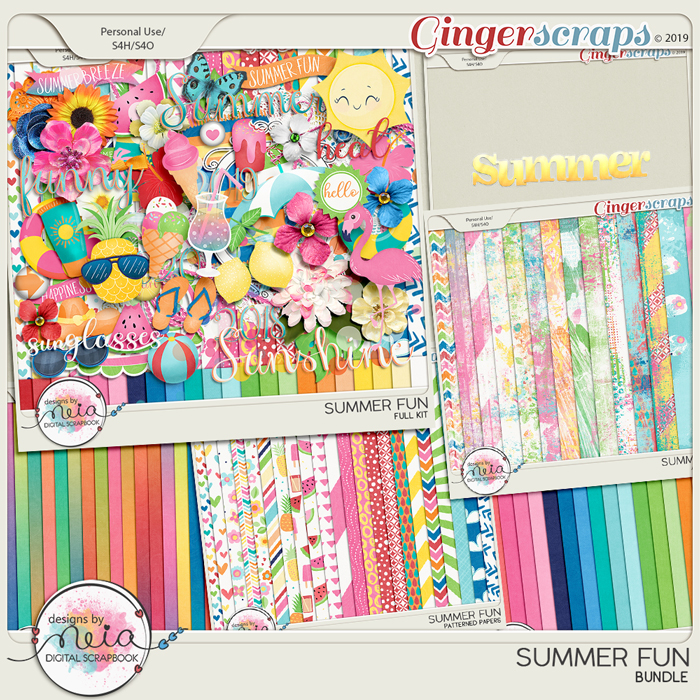 Summer Fun - Bundle - by Neia Scraps
