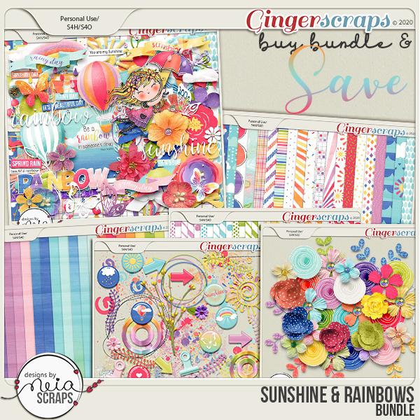 Sunshine & Rainbows - Bundle - by Neia Scraps
