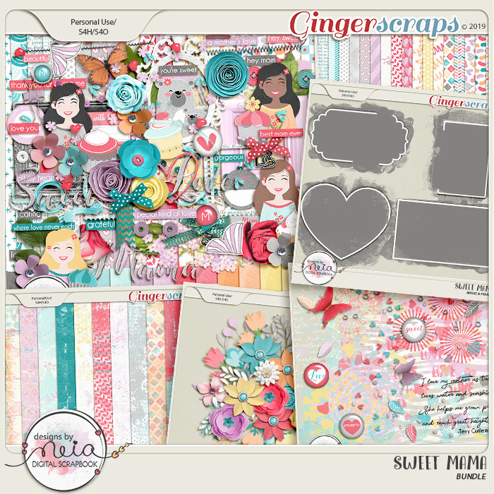 Sweet Mama - Bundle - by Neia Scraps