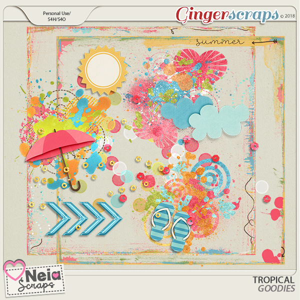 Tropical - Goodies- By Neia Scraps