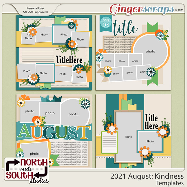 2021 August: Kindness Templates by North Meets South Studios