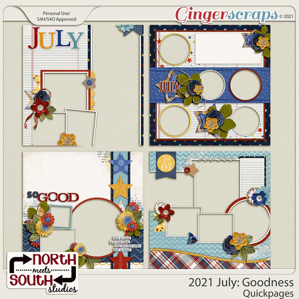 2021 July: Goodness Quickpages by North Meets South Studios