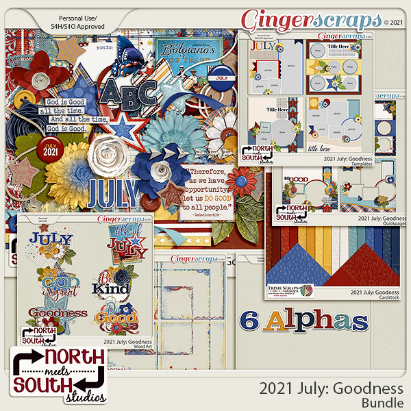 2021 July: Goodness Bundle by North Meets South Studios