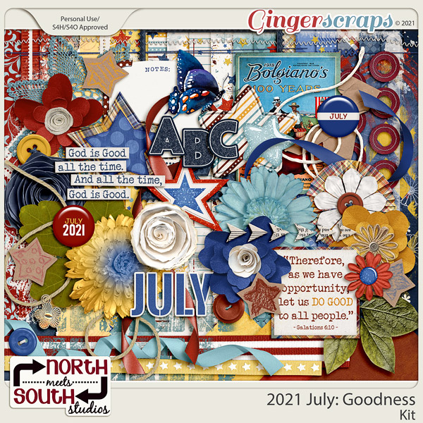 2021 July: Goodness Full Kit by North Meets South Studios