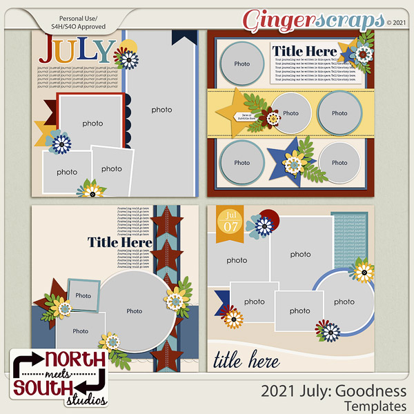 2021 July: Goodness Templates by North Meets South Studios