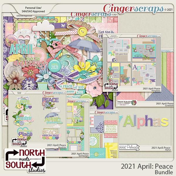 2021 April: Peace Bundle by North Meets South Studios