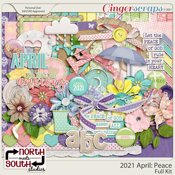 2021 April: Peace Full Kit by North Meets South Studios