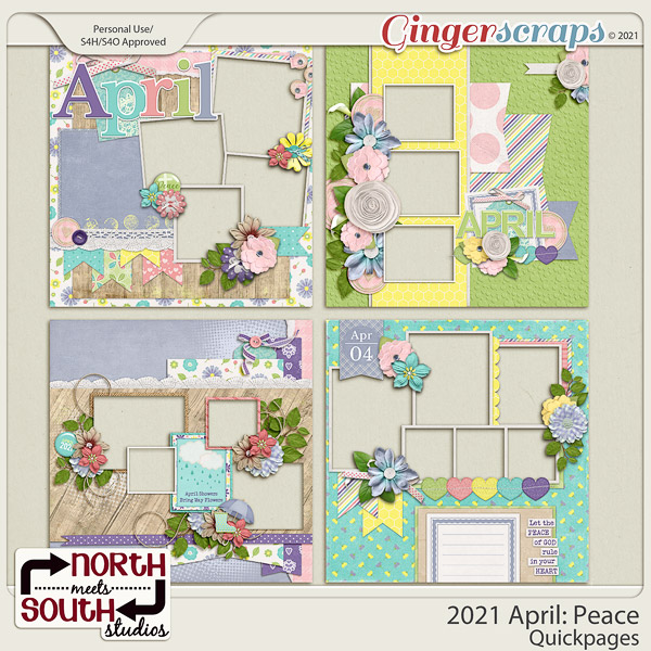 2021 April: Peace Quickpages by North Meets South Studios