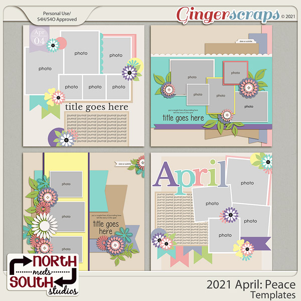 2021 April: Peace Templates by North Meets South Studios