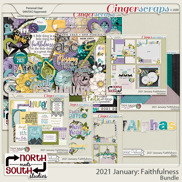 2021 January: Faithfulness Bundle by North Meets South Studios