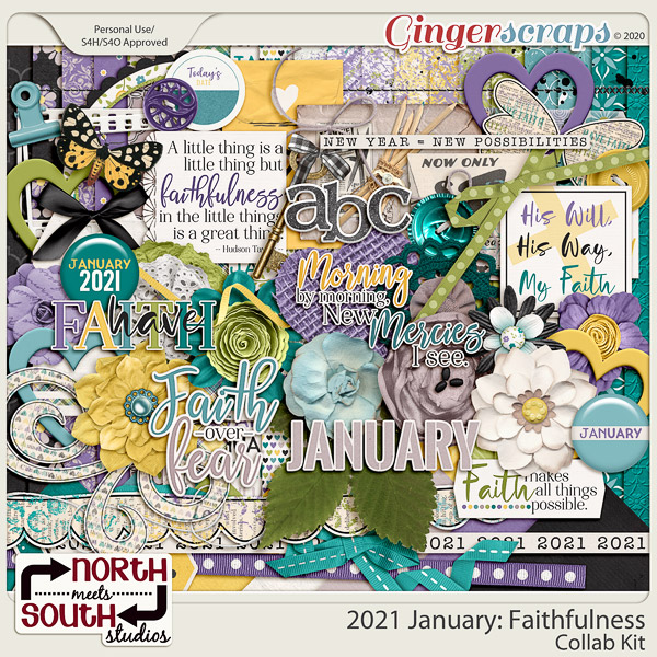 2021 January: Faithfulness Full Kit by North Meets South Studios