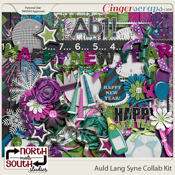 Auld Lang Syne Collab Kit by North Meets South Studios