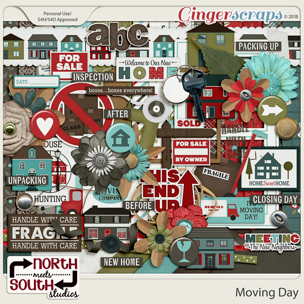 Moving Day Collab Kit by North Meets South Studios