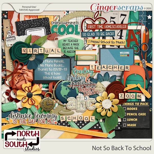 Not So Back to School Kit by North Meets South Studios