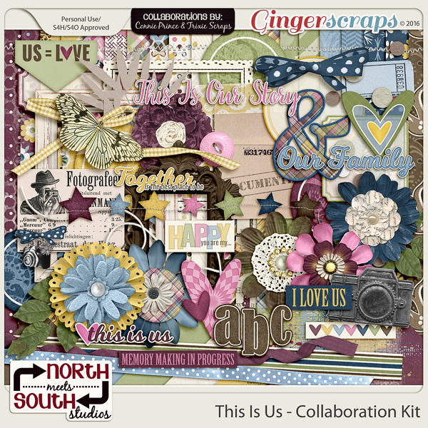 This Is Us Collab Kit by North Meets South Studios