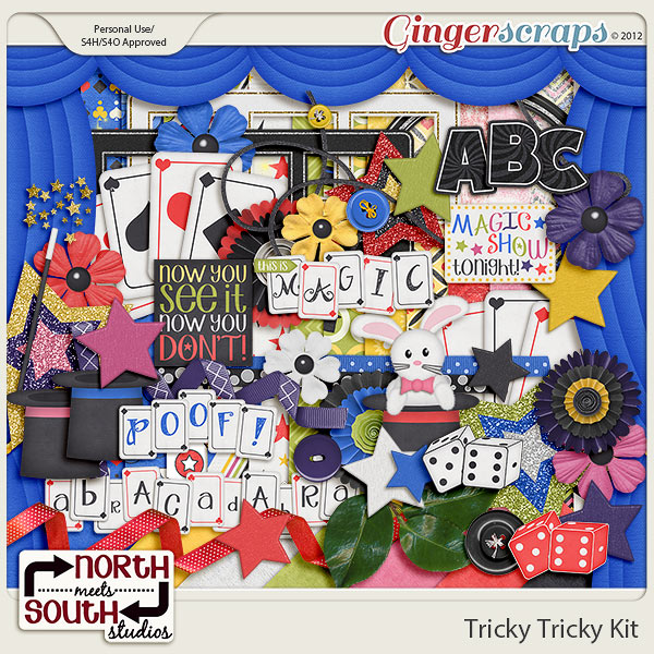 Tricky Tricky Collab Kit by North Meets South Studios