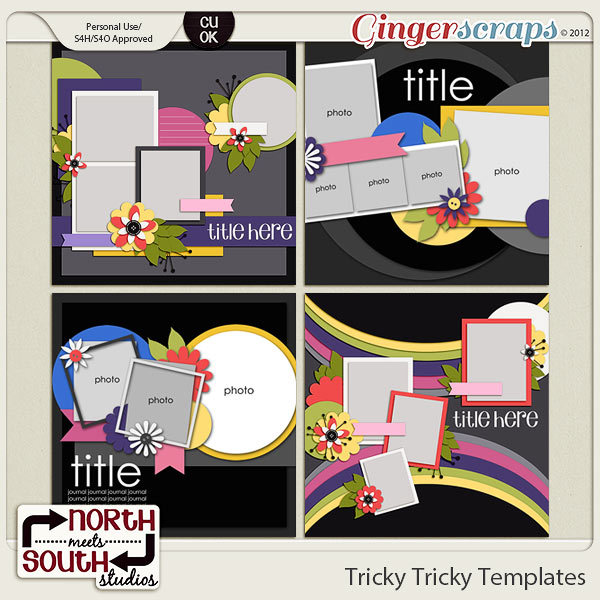 Tricky Tricky Templates by North Meets South Studios