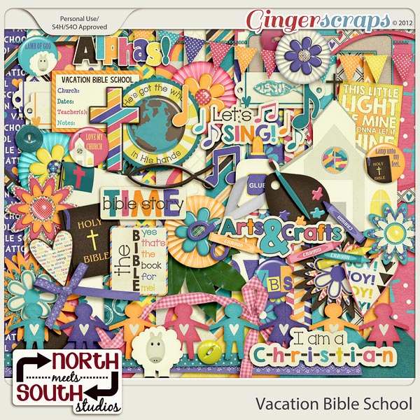 Vacation Bible School Kit by North Meets South Studios