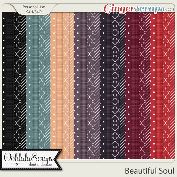 Beautiful Soul Pattern Papers
