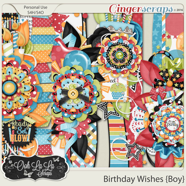 Birthday Wishes Boy Page Borders