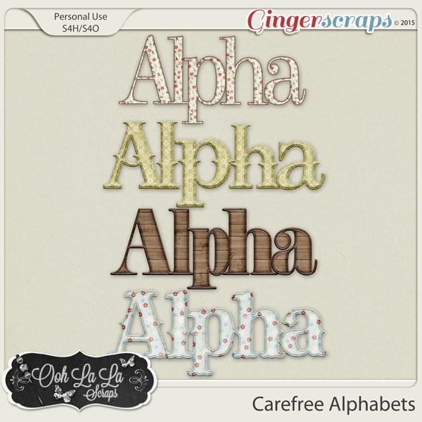 Carefree Alphabets