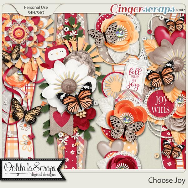 Choose Joy Page Borders
