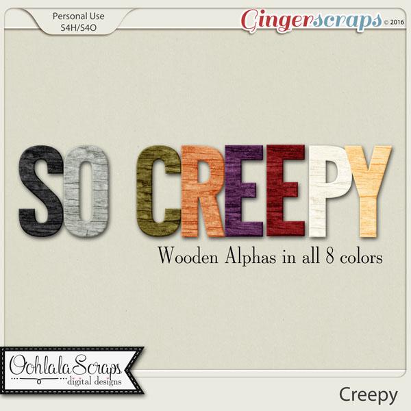 Creepy Alphabets