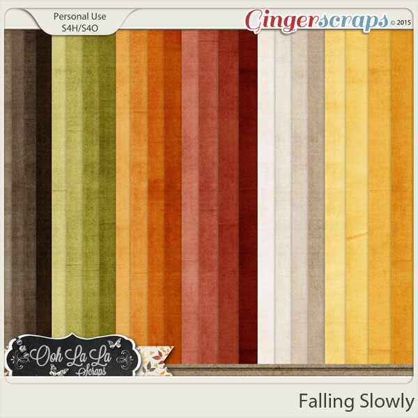 Falling Slowly Solids