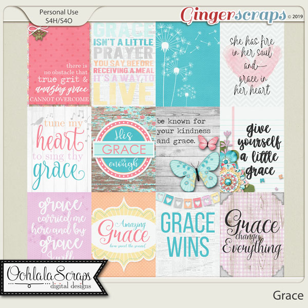 Grace Pocket Scrapbook Cards